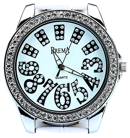 Wrist watch Prema 5308 belyj for women - picture, photo, image