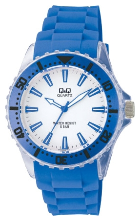 Wrist unisex watch Q&Q Z100 J002 - picture, photo, image