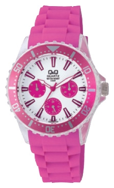 Wrist unisex watch Q&Q ZA00 J003 - picture, photo, image