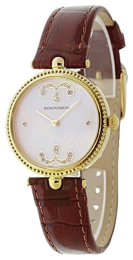 Wrist watch Romanson RL0363LJ(PINK) for women - picture, photo, image