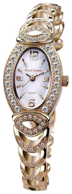 Wrist watch Royal Crown 3651RSG for women - picture, photo, image