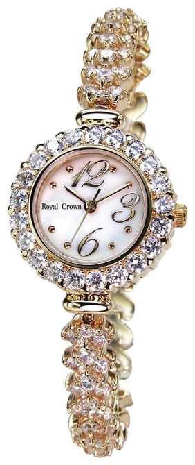 Wrist watch Royal Crown 3804RSG for women - picture, photo, image