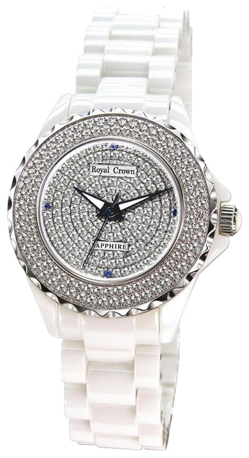 Wrist watch Royal Crown 3821L-1WHT for women - picture, photo, image