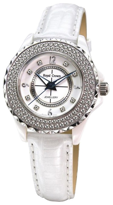 Wrist watch Royal Crown 3821L-2WHT for women - picture, photo, image