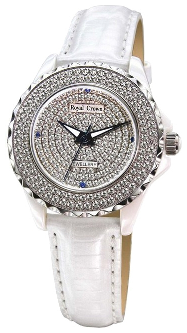 Wrist watch Royal Crown 3821L-3WHT for women - picture, photo, image