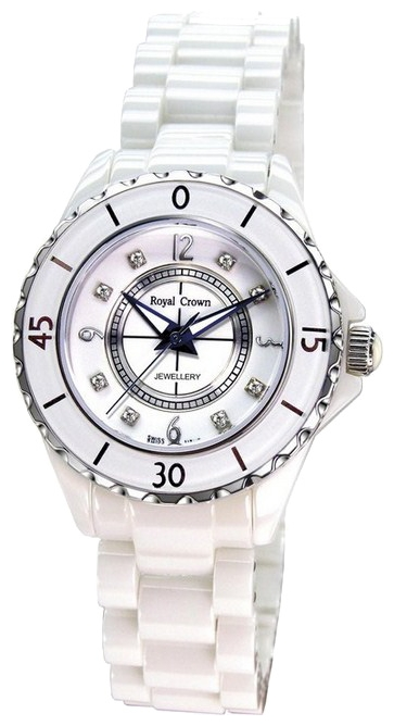 Wrist watch Royal Crown 3821L-5WHT for women - picture, photo, image