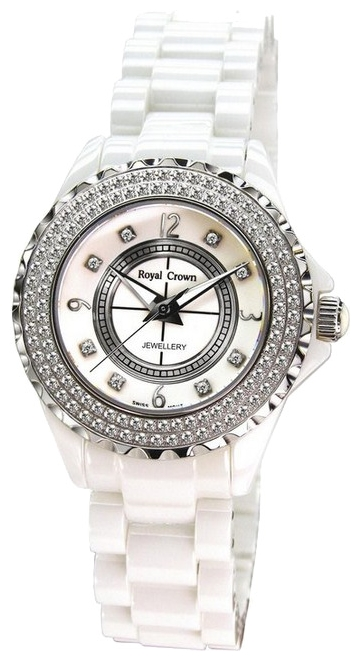 Wrist watch Royal Crown 3821LWHT for women - picture, photo, image