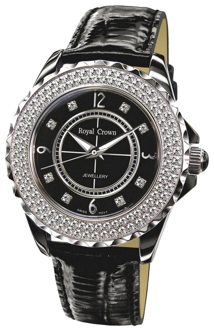 Wrist watch Royal Crown 3821M-2BLK for women - picture, photo, image