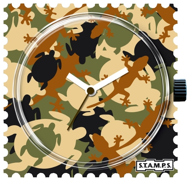 Wrist unisex watch S.T.A.M.P.S. Animal Camouflage - picture, photo, image