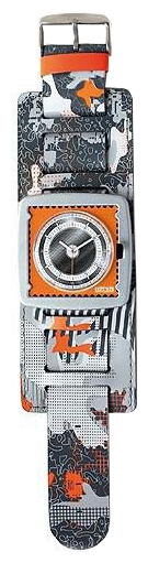 Wrist watch S.T.A.M.P.S. Camouflage Orange City for Men - picture, photo, image