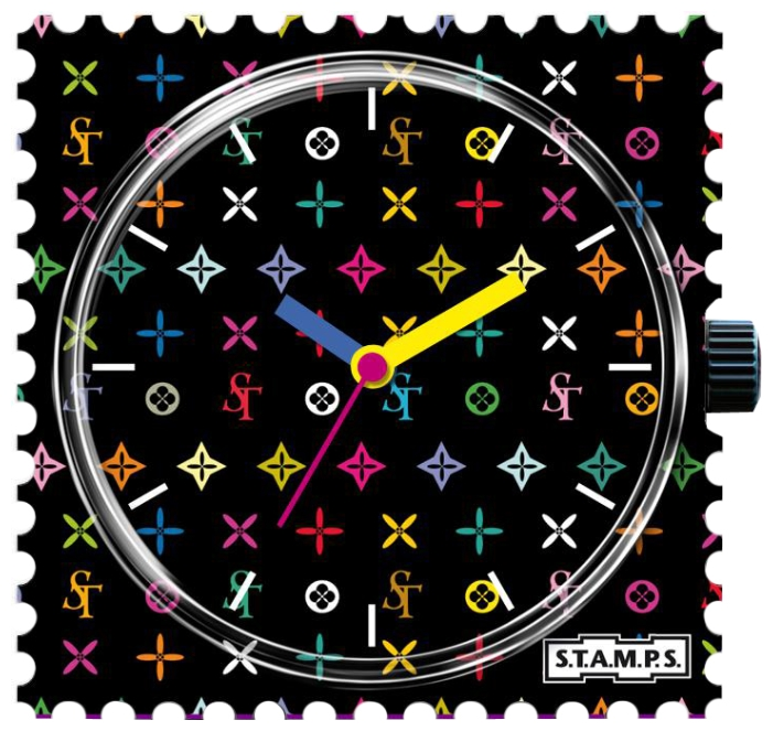 Wrist unisex watch S.T.A.M.P.S. Fashionista - picture, photo, image