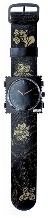 Wrist watch S.T.A.M.P.S. Flower Gold for women - picture, photo, image