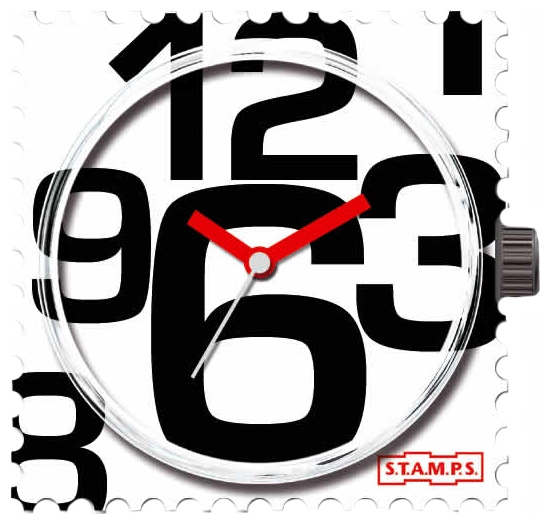 Wrist unisex watch S.T.A.M.P.S. In good time - picture, photo, image