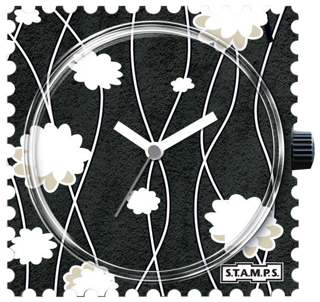 Wrist unisex watch S.T.A.M.P.S. Moonflower - picture, photo, image