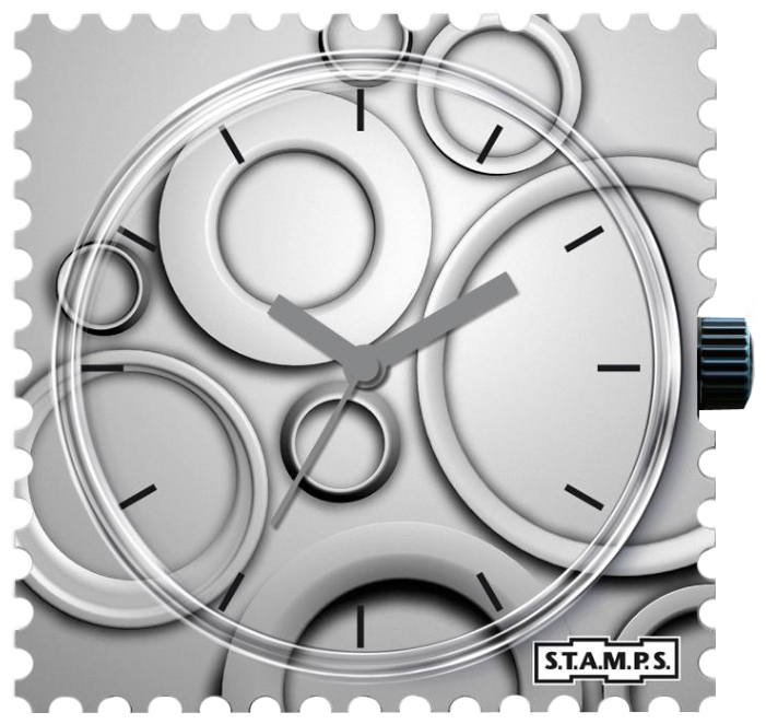 Wrist unisex watch S.T.A.M.P.S. Roundabout - picture, photo, image