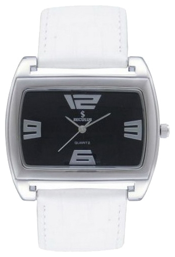 Wrist watch Seculus 1544.1.763 black, white for women - picture, photo, image