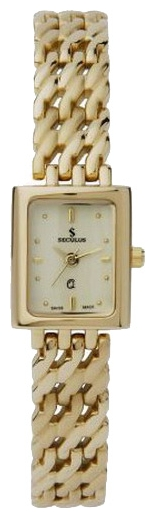 Wrist watch Seculus 1589.1.753 yellow,pvd for women - picture, photo, image
