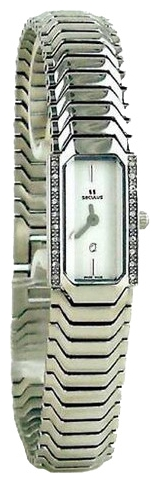 Wrist watch Seculus 1634.2.732 white, ss for women - picture, photo, image