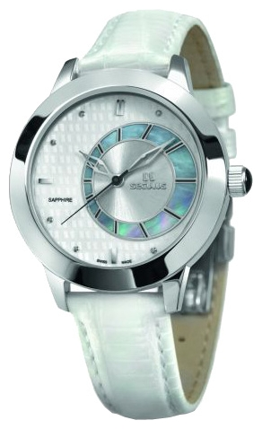 Wrist watch Seculus 1671.2.1063 white for women - picture, photo, image