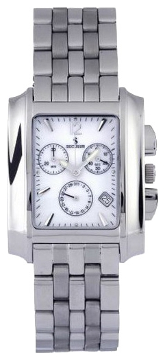 Wrist watch Seculus 4420.1.816 white, ss for Men - picture, photo, image