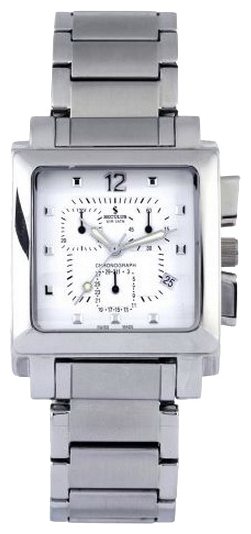 Wrist watch Seculus 4421.1.816 white, ss for Men - picture, photo, image
