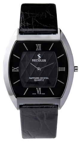 Wrist watch Seculus 4453.1.106 black for Men - picture, photo, image