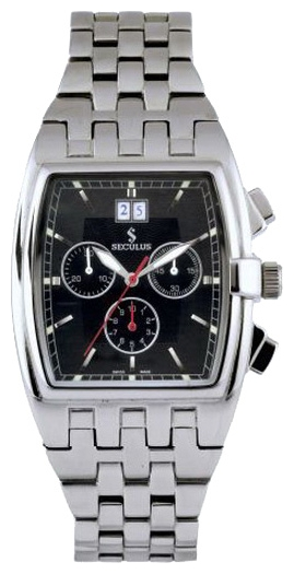 Wrist watch Seculus 4460.1.504 black for Men - picture, photo, image