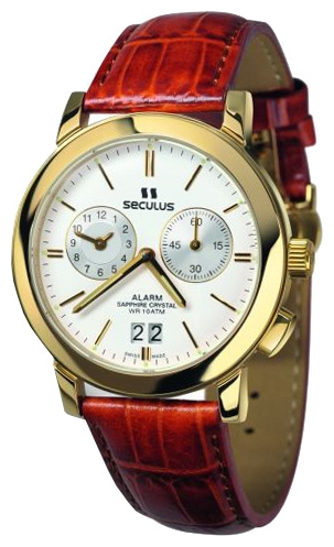 Wrist watch Seculus 9525.1.412 white for Men - picture, photo, image