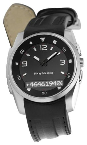 Wrist watch Sony Ericsson MBW-150 Classic Edition Black for Men - picture, photo, image