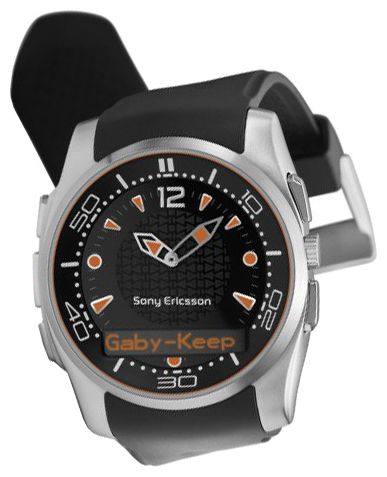 Wrist watch Sony Ericsson MBW-150 Music Edition for Men - picture, photo, image