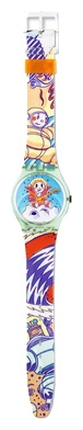 Wrist watch Swatch GG118 for children - picture, photo, image