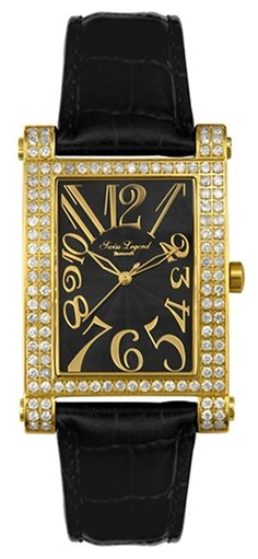 Wrist watch Swiss Legend 40029-YG-BLK for women - picture, photo, image