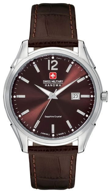 Wrist watch Swiss Military Hanowa SM10083JSNBR.H12 for Men - picture, photo, image
