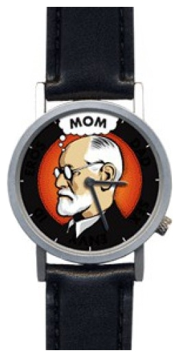 Wrist unisex watch The Unemployed Philosophers Guild Freud watch - picture, photo, image