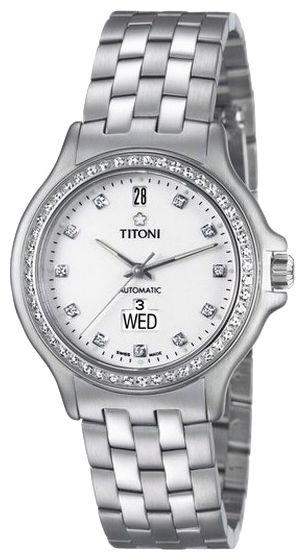 Wrist watch Titoni 93959S-DB-007 for Men - picture, photo, image