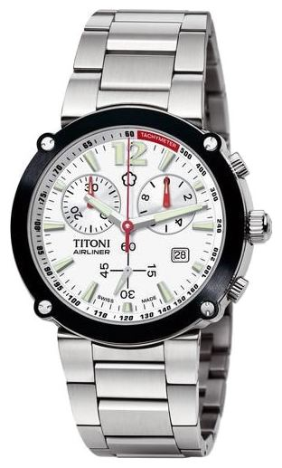 Wrist watch Titoni 94935SBK-305 for Men - picture, photo, image