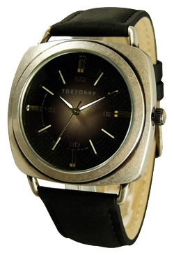 Wrist watch TOKYObay Ace Black Silver for Men - picture, photo, image