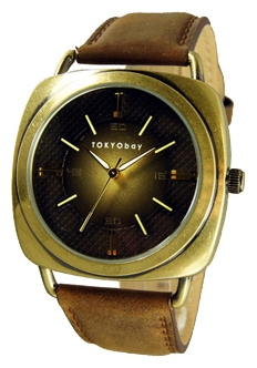 Wrist watch TOKYObay Ace Brown Gold for Men - picture, photo, image