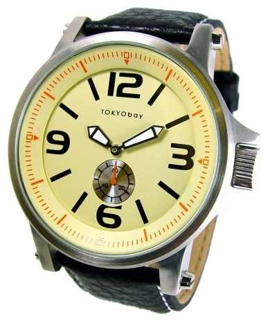 Wrist watch TOKYObay Agent Beige for Men - picture, photo, image