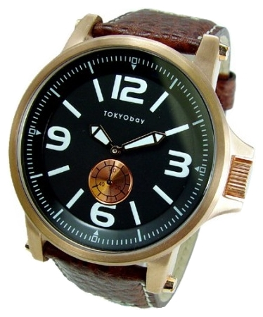Wrist watch TOKYObay Agent Brown for Men - picture, photo, image