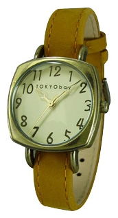 Wrist unisex watch TOKYObay Ascot Mustard - picture, photo, image