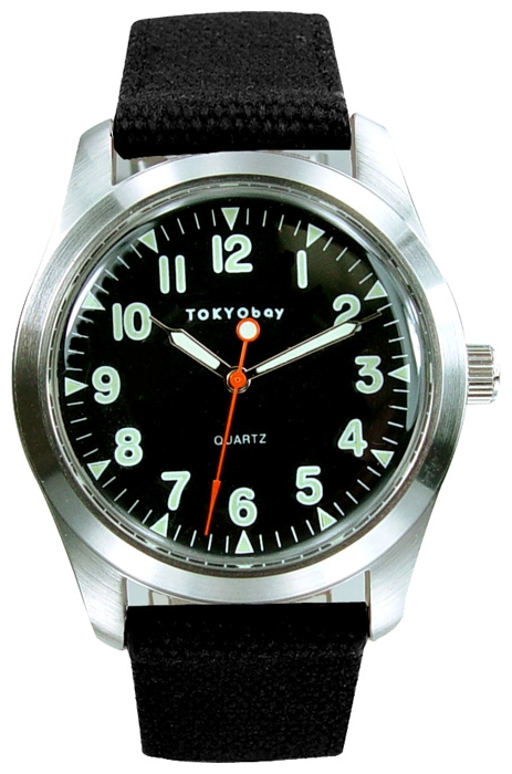 Wrist unisex watch TOKYObay Basic Black - picture, photo, image