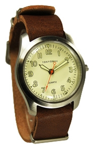 Wrist unisex watch TOKYObay Basic Leather Tan - picture, photo, image