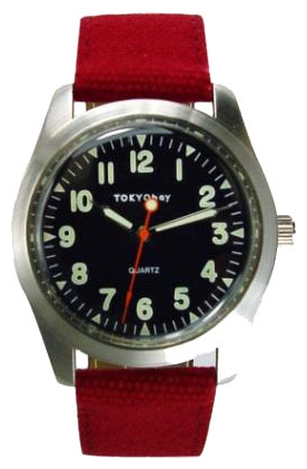 Wrist unisex watch TOKYObay Basic Red - picture, photo, image