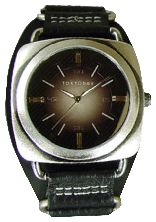 Wrist watch TOKYObay Captain silver for Men - picture, photo, image