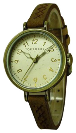 Wrist unisex watch TOKYObay Charing Brown - picture, photo, image