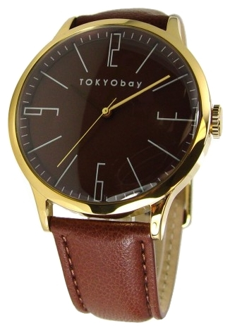 Wrist watch TOKYObay Classic Bloke Brown for Men - picture, photo, image