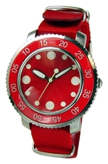 Wrist unisex watch TOKYObay Graphia Red - picture, photo, image