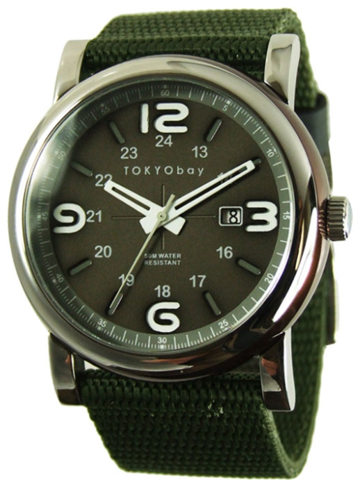 Wrist watch TOKYObay Military Green for Men - picture, photo, image