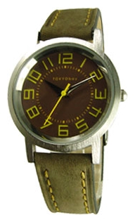 Wrist unisex watch TOKYObay Small Track Brown - picture, photo, image